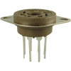 Socket - Belton, Micalex, 8 Pin, Octal PC Mount, Long Lead image 1