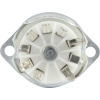 Socket - 9 Pin, Ceramic, PC Mount with Aluminum Shield image 3