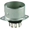 Socket - 9 Pin, Miniature, with Shielded Base image 1