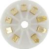 Socket - 9 Pin, Ceramic, PC Mount, Gold Pins image 3
