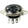 Socket - 9 Pin, Plastic, Black image 1