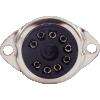 Socket - 9 Pin, Plastic, Black image 2