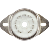 Socket - 9 Pin, Miniature, Ceramic, Chassis Mount image 3