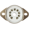 Socket - 9 Pin, Miniature, Ceramic, Chassis Mount image 2