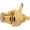 RCA Jack - Chassis Mount, Front Mount, Gold Plated image 1