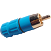 RCA Plug - Blue, Ceramic image 1