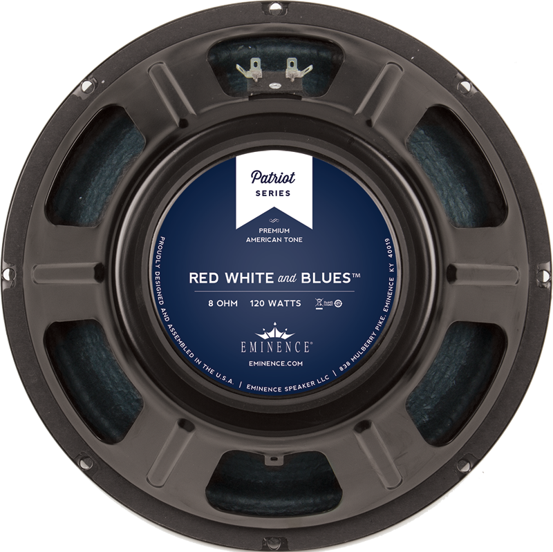 speaker eminence patriot 12 red white and blues 120w ce distribution. Black Bedroom Furniture Sets. Home Design Ideas