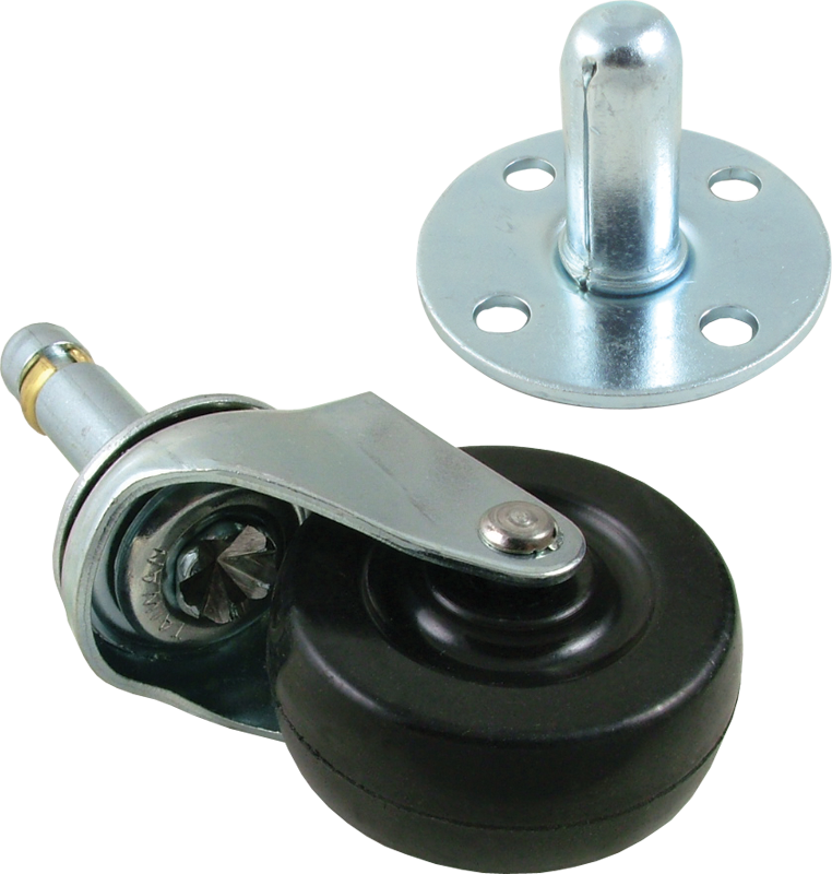 how to add a swivel caster