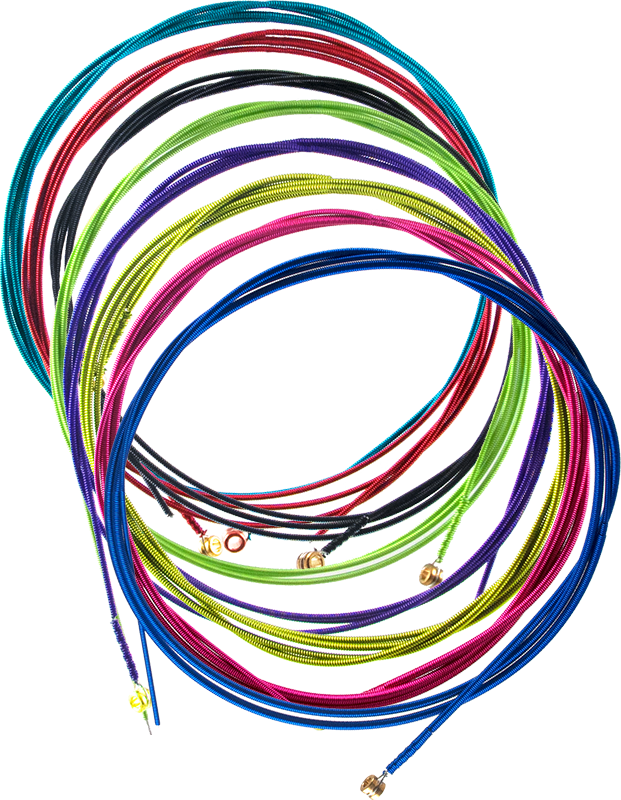 Colored Bass Strings